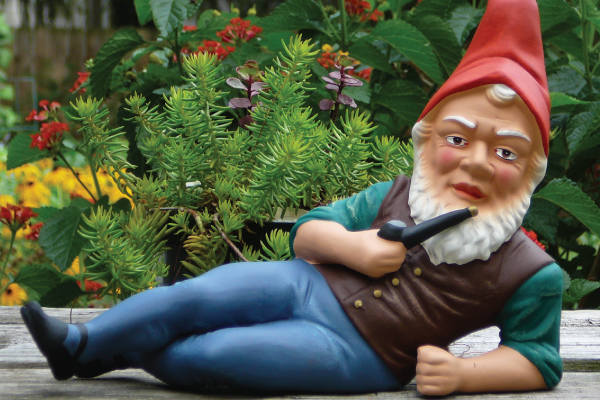 Embrace your inner gnome