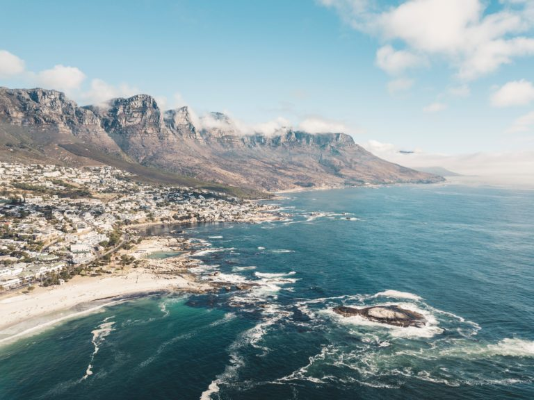 south african city by the ocean