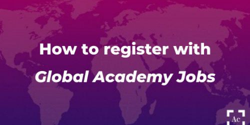 how to register with GAJobs
