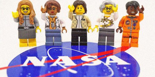 lego nasa warm
